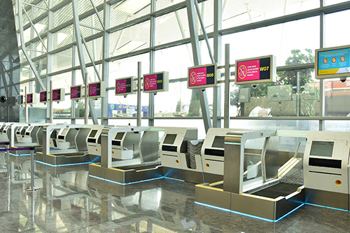 Bengaluru Airport launches fully automated self bag facility.