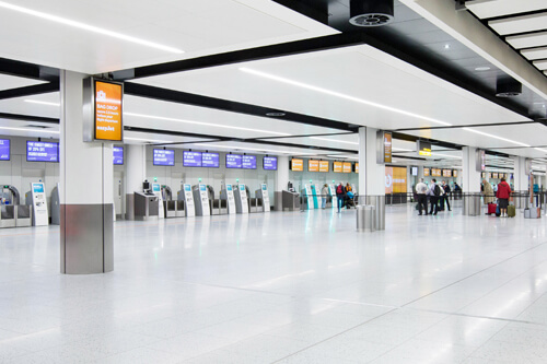 Gatwick transformation: A glimpse into the future of airport design.